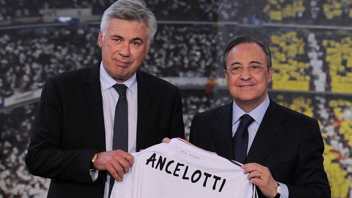 Esta mañana Carlo Ancelotti fue presentado como nuevo entrenador del Real Madrid