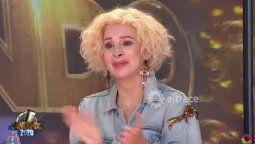 Nacha Guevara se soltó a llorar tras el performance de Ángela Leiva y Brian Lanzelotta