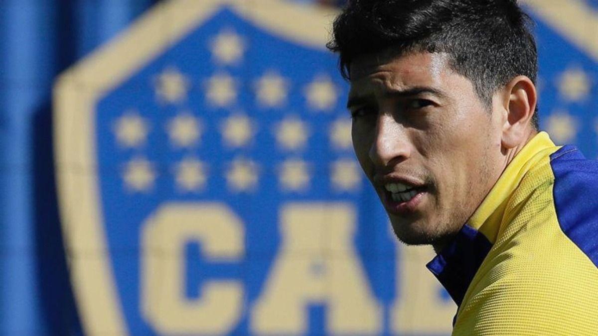 El arquero de Boca Juniors Esteban Andrada está aislado en Ecuador tras dar positivo por Covid 19
