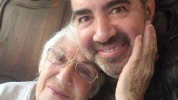 Diego Pérez lloró de preocupación por la salud de sus padres