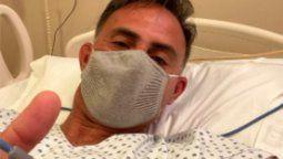 Diego Latorre internado por neumonía a causa del COVID-19