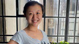 Karina Gao salió del coma inducido
