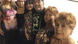 Kitty Maradona no quiere hablar de los audios ni del documental