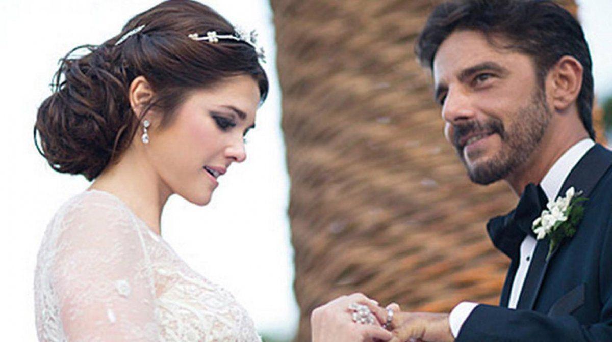 Fabián Mazzei y Araceli González se casaron en 2003.