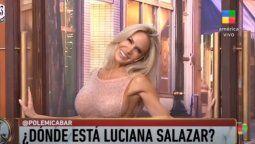 Luciana Salazar explicó por qué se salió del chat de Polémica en el bar