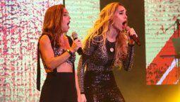 Fátima Flórez y Soledad cantaron juntas en Carlos Paz
