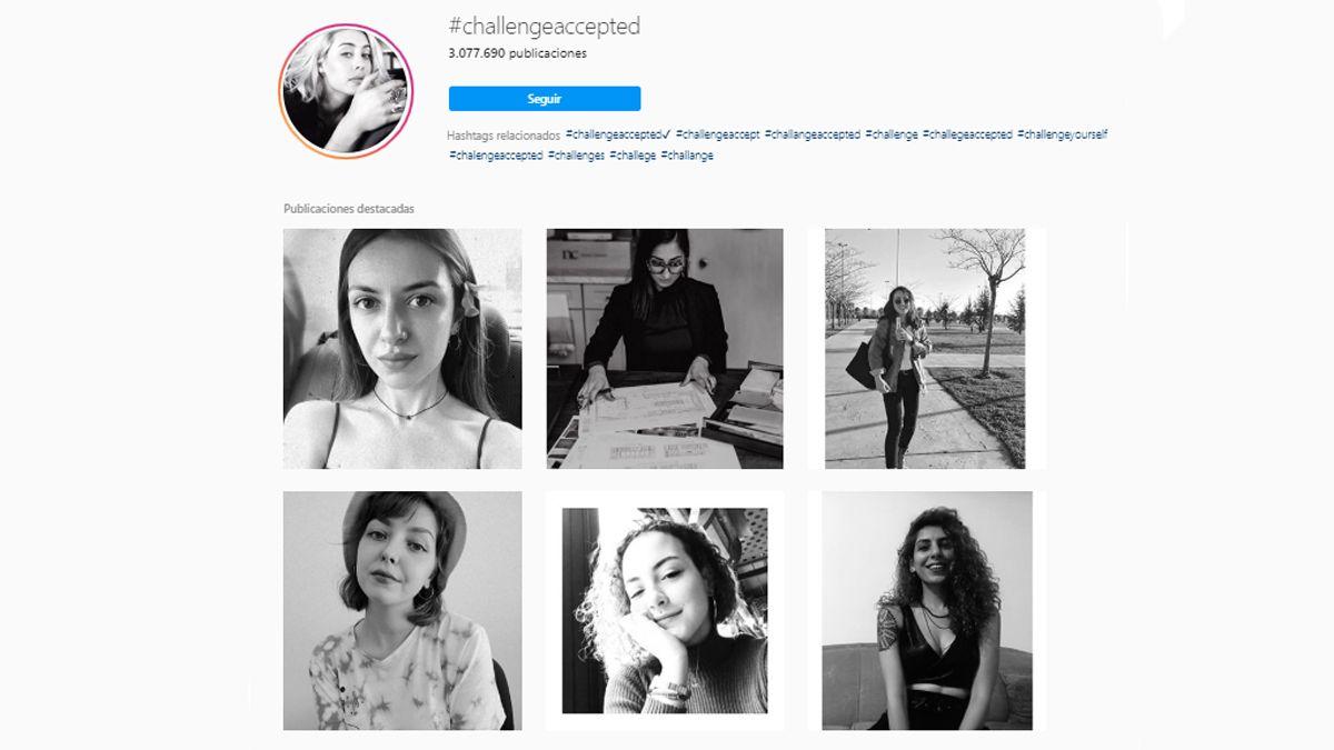 Challenge Accepted: El reto que se toma a Instagram
