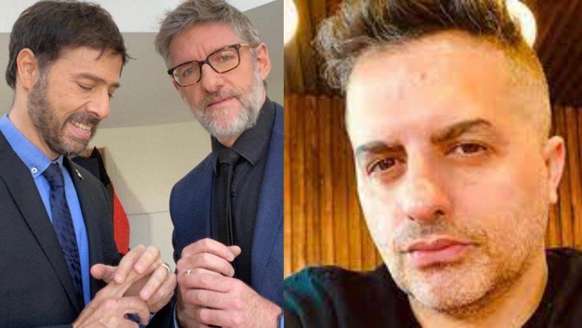 Ángel de Brito opinó sobre el video íntimo de Luis Novaresio y Braulio Bauab