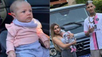 L-Gante y Tamara Báez criticados por un descuido con su hija
