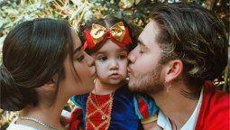 Así fue la fiesta de la hija de Kimberly Loaiza y Juan de Dios Pantoja