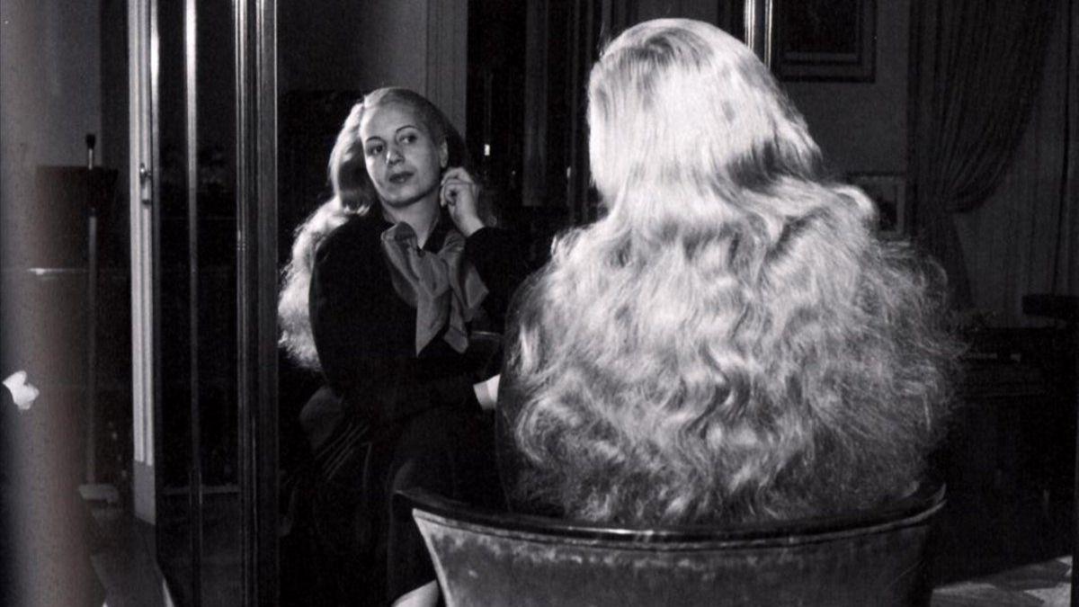 El debut en el cine de Eva Perón fue en 1938