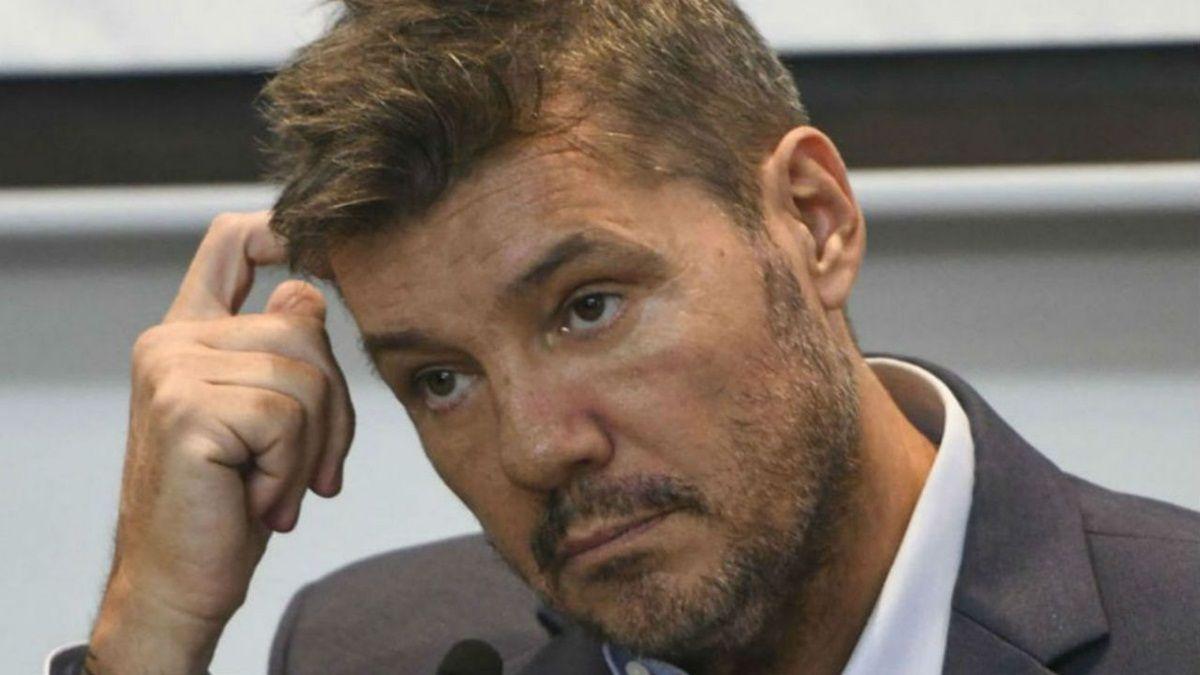 Duelo: Marcelo Tinelli está severamente conmovido por una muerte