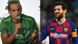 ¡Un error! Lionel Messi debió ser vendido, dice Rivaldo