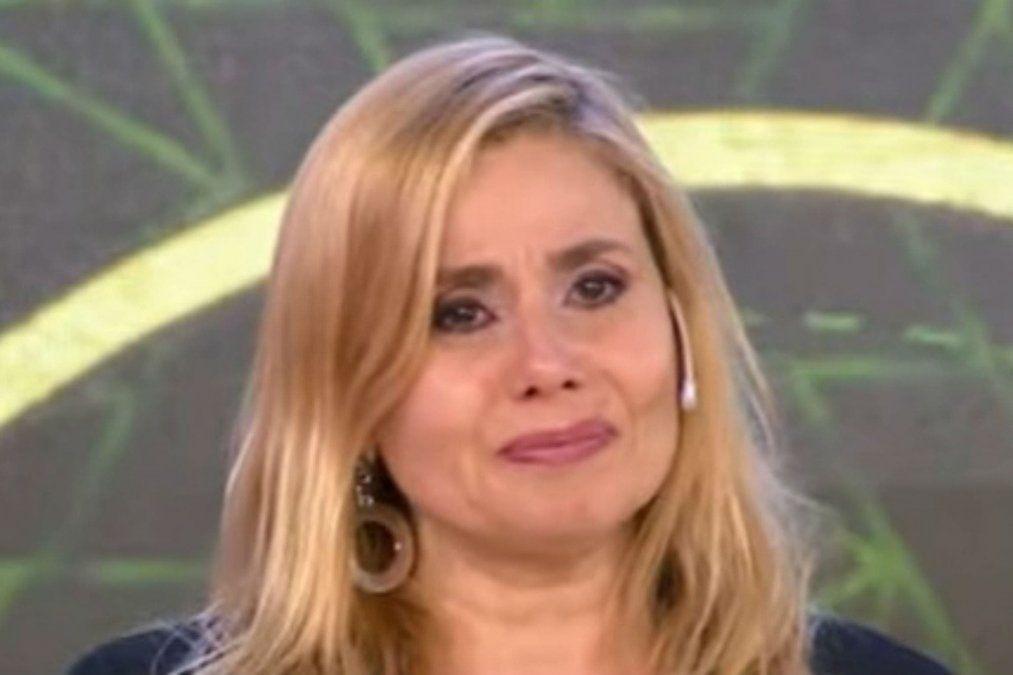 Andrea Politti lloró en Corte y Confección