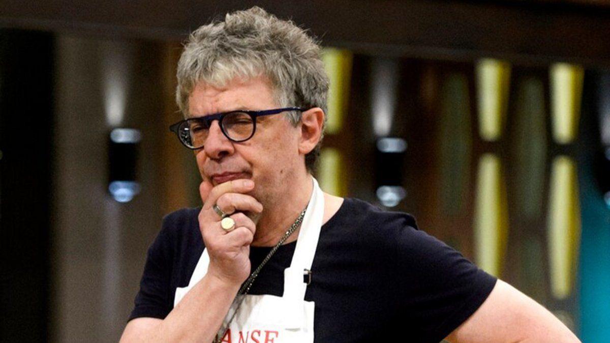 Juanse culpó a la producción de Masterchef Celebrity de solo entregar huevos frios