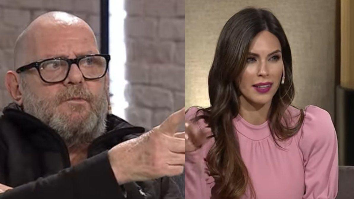 Luis Luque incomodó a Barby Franco al confundir a Fernando Burlando