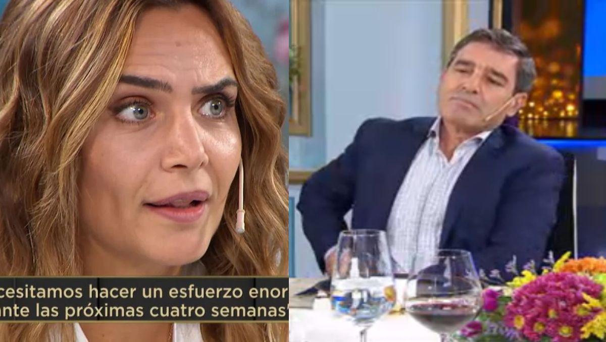 Amalia Granata tuvo un ida y vuela con Fernán Quirós
