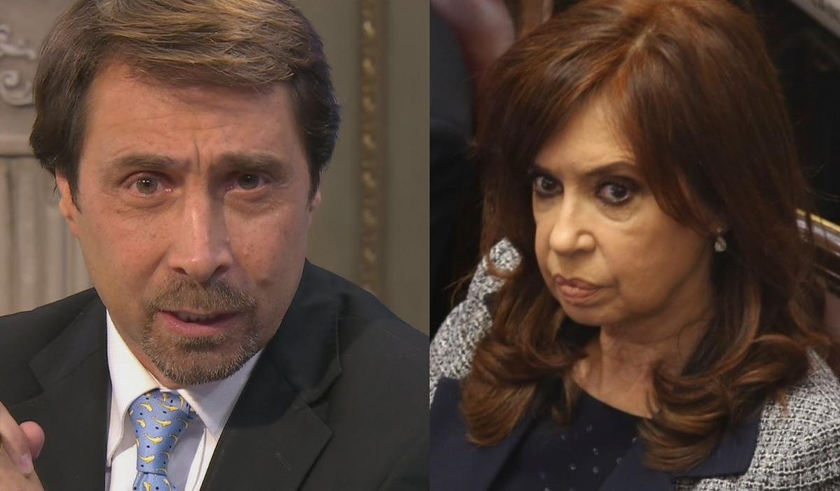 Eduardo Feinmann criticó a Cristina Kirchner por sus declaraciones ante el tribunal