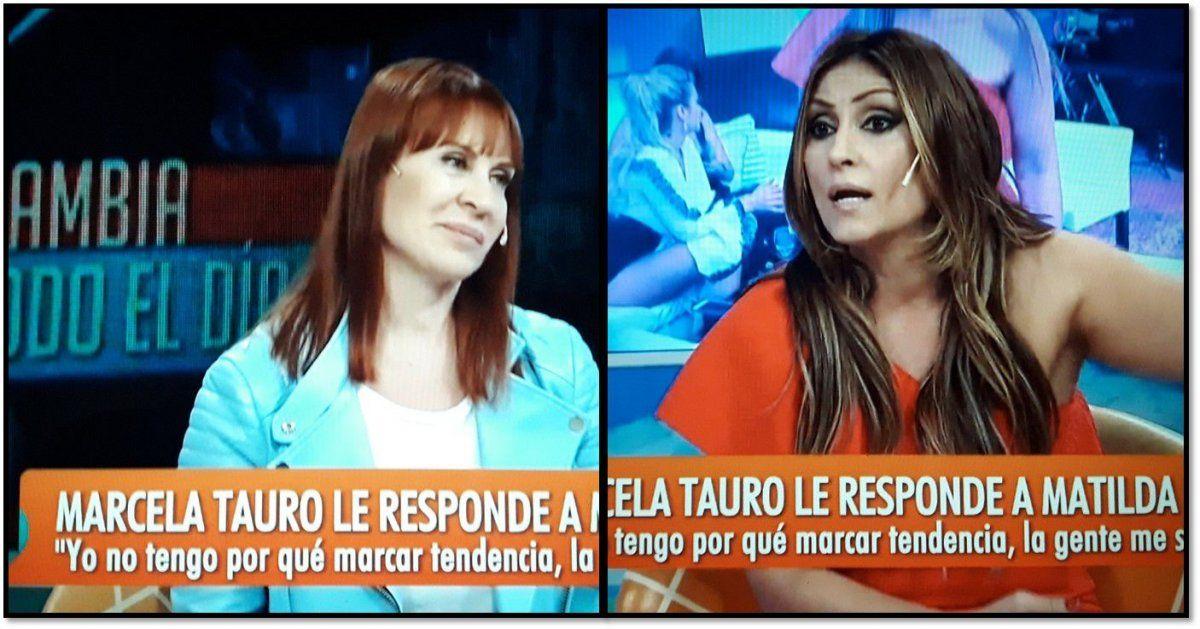 Marcela Tauro y Matilda Blanco enfrentadas por una bombacha sucia