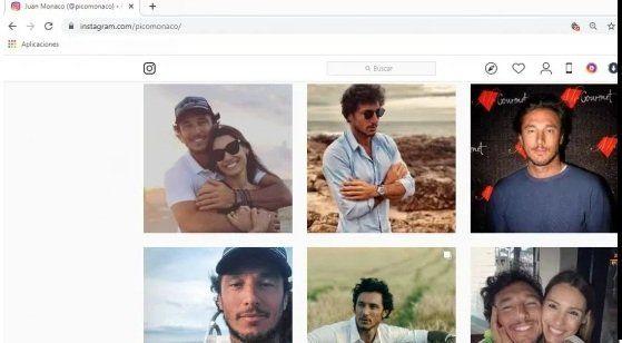 Pico Mónaco conserva las fotos de su relación con Pampita
