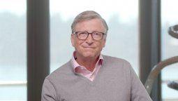 Bill Gates habló en una cumbre del tratamiento aplicado a Donald Trump para el Covid 19