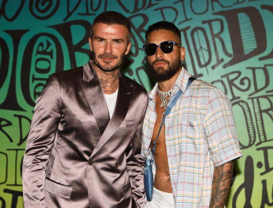 ¡Tremendo piropo! Maluma fue halagado por David Beckham
