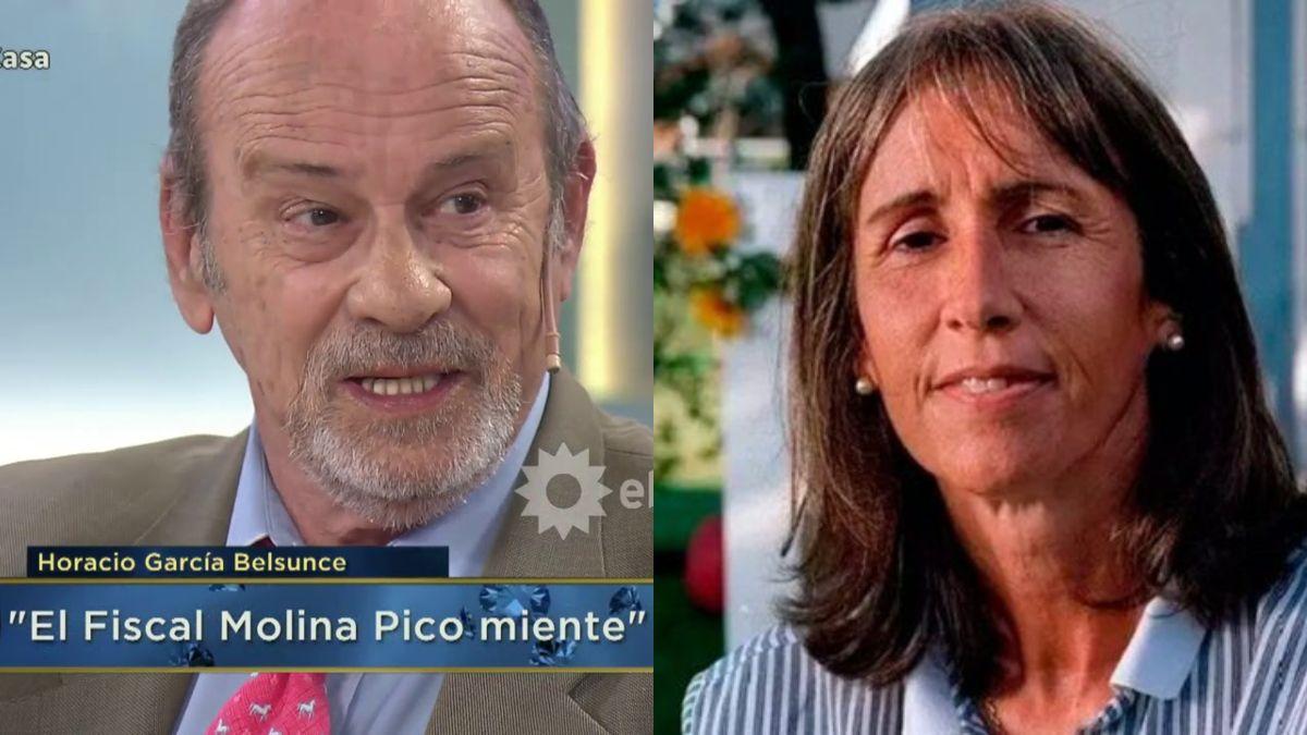 Horacio García Belsunce identificó con nombre y apellido al asesino de su hermana