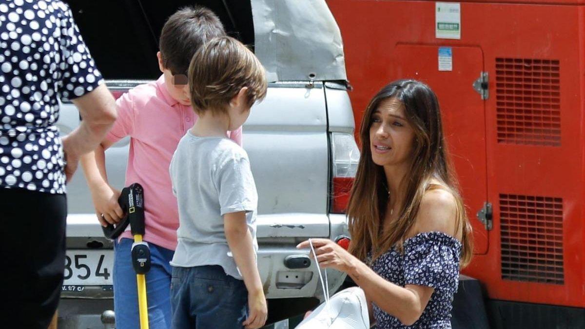 ¡Con sus hijos! Sara Carbonero está volcada con sus pequeños