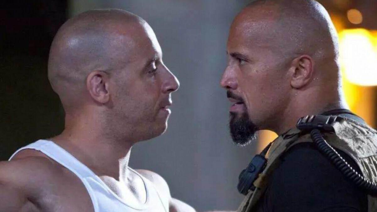 Vin Diesel cuestionó la actuación de Dwayne The Rock Johnson