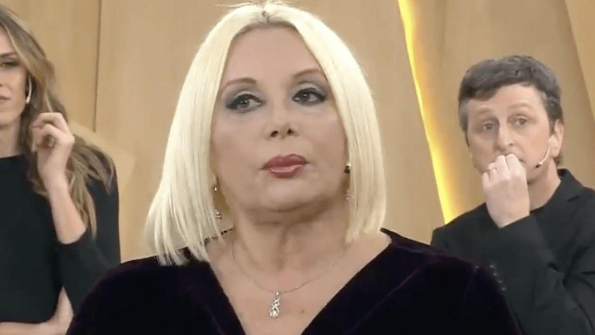 La actriz Carmen Barbierí no quedó contenta con el resultado de su autocorte de cabello