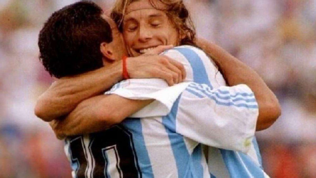 Mariana Nannis logró que Diego Maradona se deprimiera