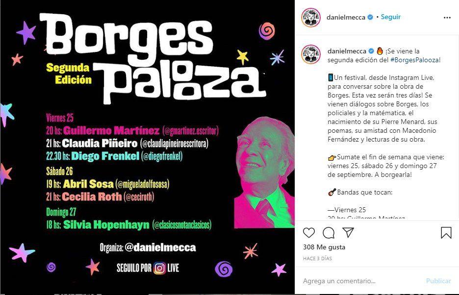 Daniel Mecca es el organizador del BogresPalooza