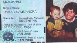 Damaris Maradona ¿Nueva hija?