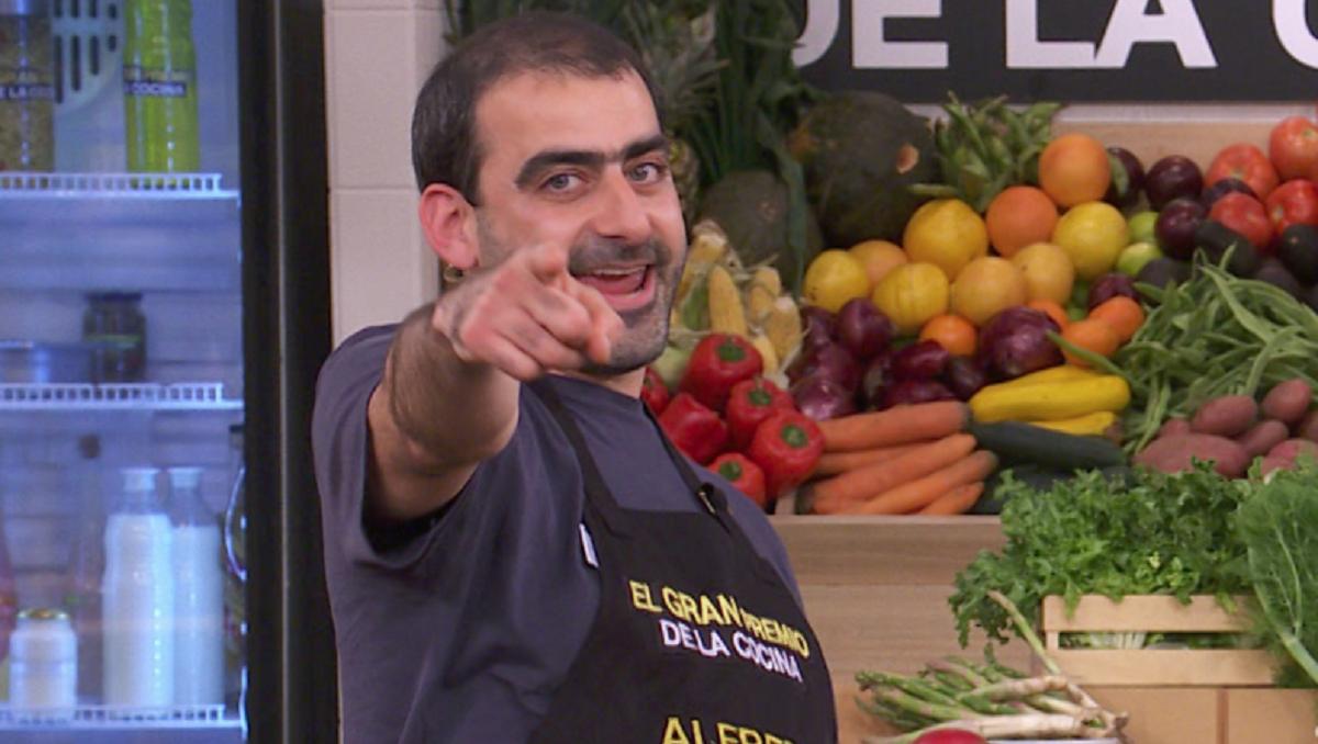 Alfredo es el más reciente eliminado en El Gran Premio de la Cocina