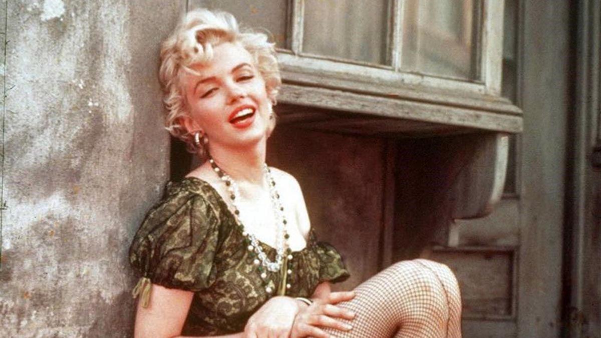 Marilyn Monroe se decoloraba en sus partes íntimas