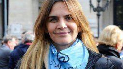 Amalia Granata mostró su furia por la ley del aborto