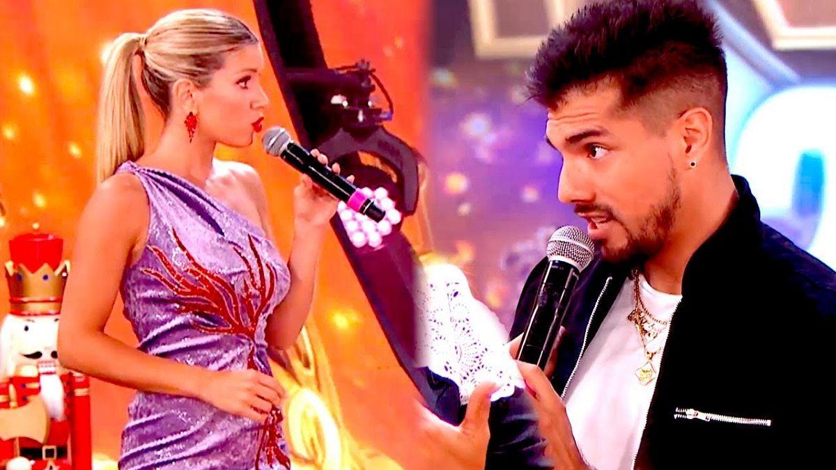 Te tenés que adaptar Laurita Fernández se molestó con Tyago Griffo