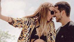 ¡Puro amor! Belinda y Nodal comparten look de cejas
