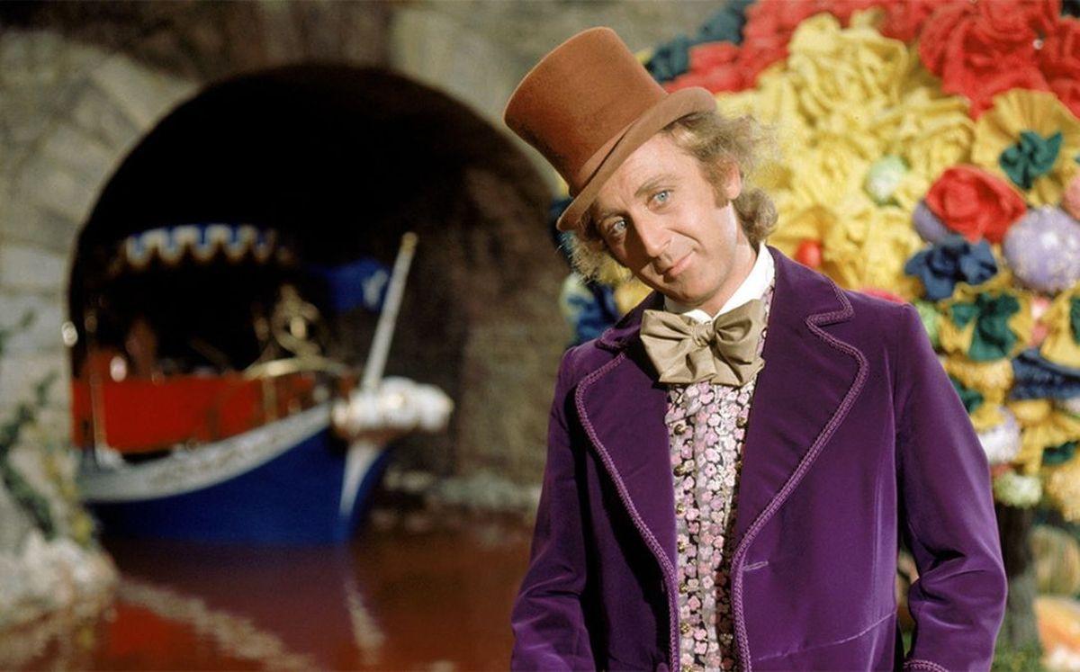 Gene Wilder fue el primer actor en interpretar a Willy Wonka en Charlie y La Fábrica de Chocolate