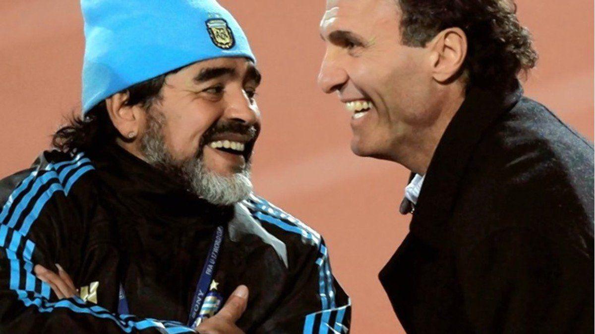 Oscar Ruggeri fue compañero de Diego Maradona en la selección argentina