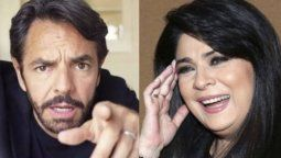 Eugenio Derbez bromeó nuevamente sobre su relación con Victoria Ruffo