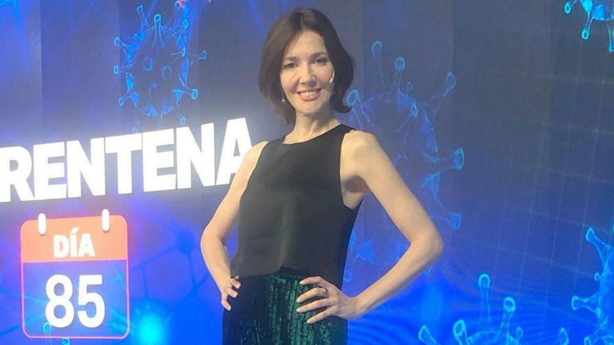 La periodista Cristina Pérez negó la posibilidad de cambiar su trabajo actual