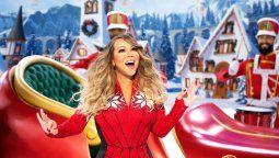 ¡Otro año más! Mariah Carey volvió a lucir con All I Want for Christmas Is You