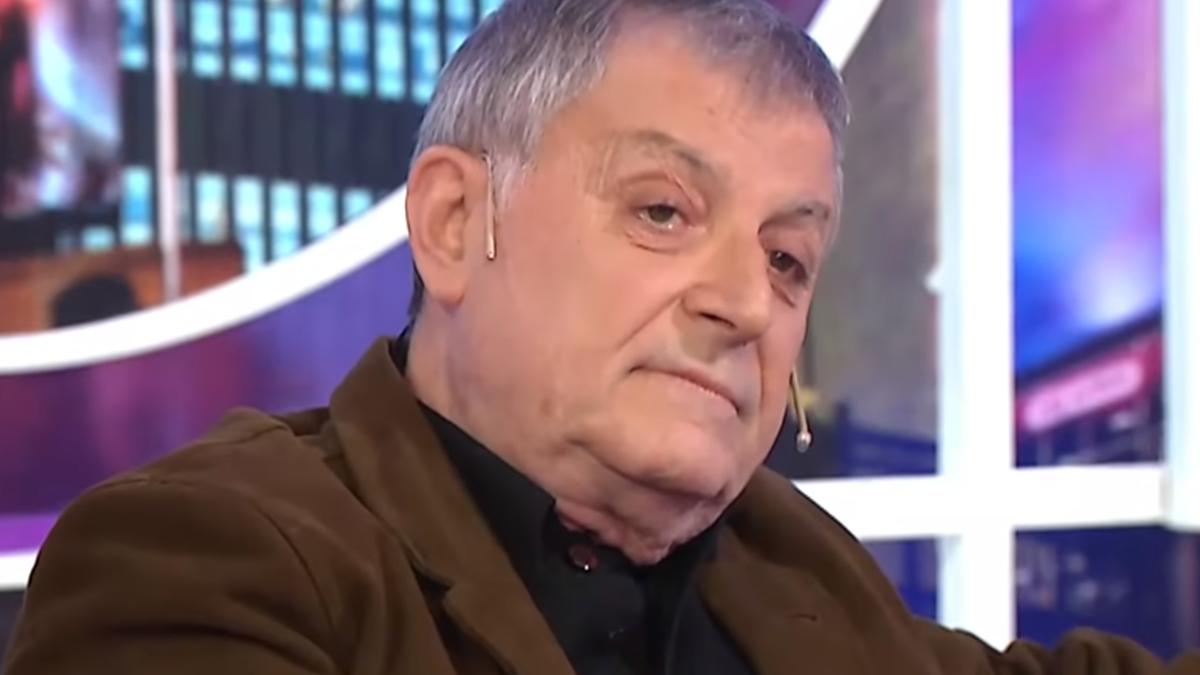 Evalúan una traqueotomía: Gino Renni está complicado de salud