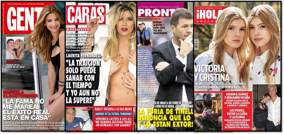 La extorsión a Tinelli y la tapa hot de Laurita Fernández: Aún no superé la traición