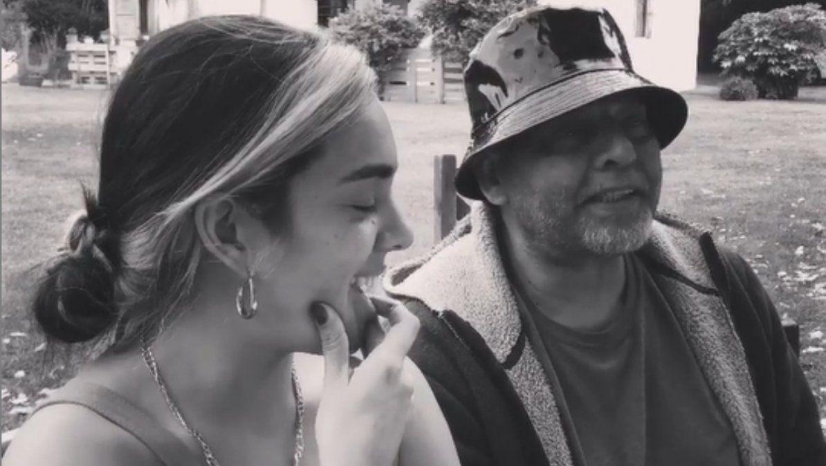 Ángela Leiva escribió un desgarrador mensaje para despedir a su papá