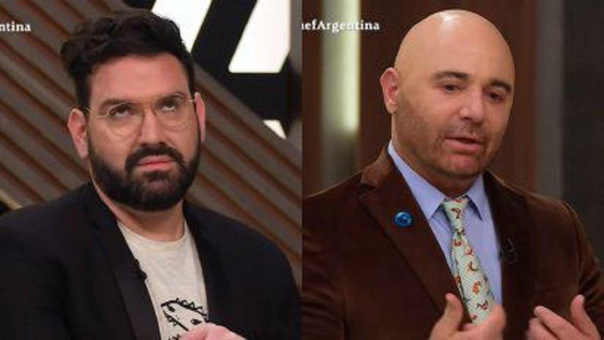 Germán Martitegui y Damián Betular se cruzaron por culpa de Alex Caniggia