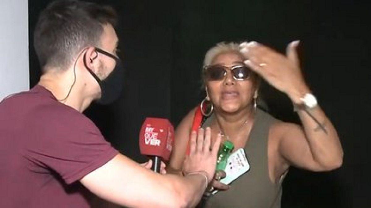 Gladys La Bomba Tucumana estalló en pleno móvil para Hay que ver
