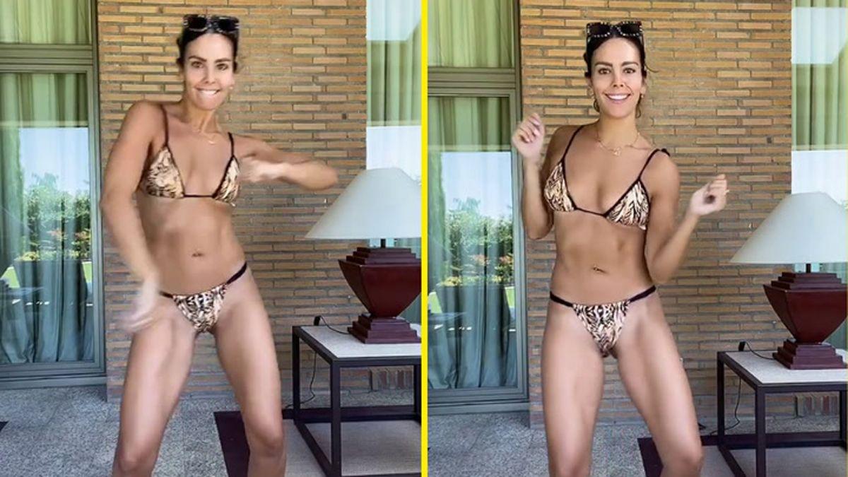 Cristina Pedroche reventó TikTok con un atrevido baile