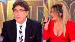 Karina La Princesita le puso los puntos a Oscar Mediavilla quien se sumó al jurado del Cantando 2020